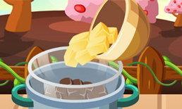 ทำเค้กส้มเคลือบช็อคโกแลต
