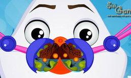 เกมส์ทำความสะอาดจมูก Olaf Nose Doctor