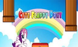 เกมส์ Cute Flappy Pony