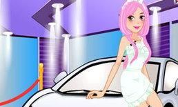 เกมส์แต่งตัวสาวสวย ออกไปซิ่งรถ