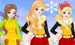 เกมส์แต่งตัว 3 สาว