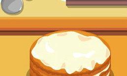 เกมส์ทำเค้กมะพร้าวแสนอร่อย