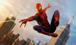 Spider-Man PS4 ใจดี เเจก Webbed Suit จากหนังชุด Spider-Man 2002