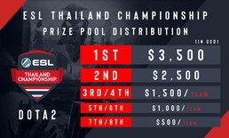 เตรียมพบศึกโดต้าไทยกับ ESL Thailand Championship 2019