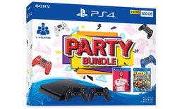 PS4 Party Bundle สองชุดใหม่ พร้อมวางจำหน่ายแล้ว