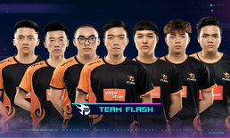 RoV สรุปผลงาน Team Flash หลังจบ Group Stage Week 1