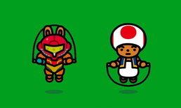 Jump Rope Challenge เกมออกกำลังกายเล่นฟรี อัพเดทตัวละครจาก Nintendo