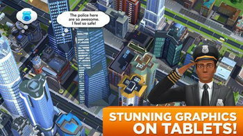Simcity Buildit ขอเชิญมาสร้างเมืองกันได้ในมือถือแล้ว