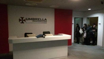 Capcom ร่วมกับ Universal สร้างบริษัท Umbrella เสมือนจริง