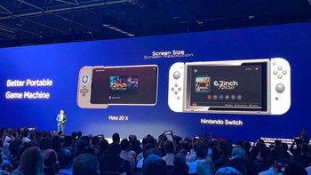 Huawei Mate 20X แท็บเล็ตใหม่ โว! เป็นเครื่องเกมพกพาที่ดีกว่า Nintendo Switch