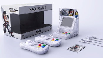SNK ประกาศเปิดตัว Neo Geo Mini รุ่นพิเศษ Samurai Shodown Limited