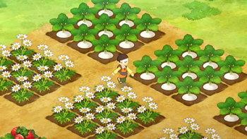 เรียนรู้การปลูกผักกับวีดีโอตัวอย่างเกมเพลย์ใหม่ของ Doraemon Story of Seasons