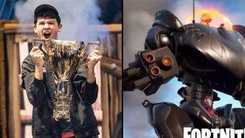 ทนไม่ไหวแล้ว  แชมป์โลก Fortnite ออกมาเรียกร้องให้ลบหุ่นยนตร์ที่ใส่เข้ามาใหม่ในเกมทิ้งซะ