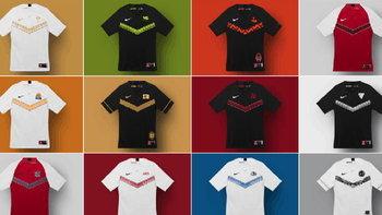 เท่บาดใจ  Nike ทำเสื้อให้ทุกทีมในการแข่ง LPL ของจีน