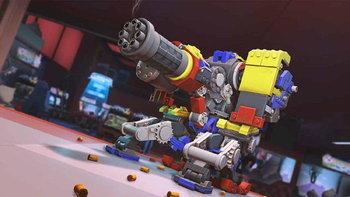 สกินใหม่ Overwatch มาแล้ว วิธีการได้รับสกิน LEGO ของ Bastion แบบฟรีๆ