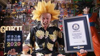 ของจริง! แฟน Dragon Ball ของสะสม 10,000 ชิ้น ติด Guinness World Records