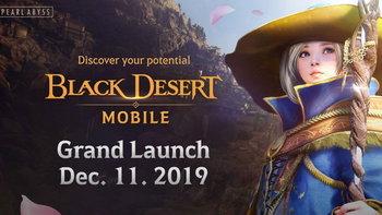 Black Desert Mobile กำหนดเปิดเกม 11 ธันวาคม 2019 พร้อมผจญภัยทั่วโลก