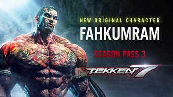 Tekken 7 เปิดตัว DLC ใหม่กับ Fahkumram นักมวยไทยสู่สังเวียนหมัดเหล็ก