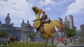 ชมภาพเกม Final Fantasy 11 เวอร์ชั่น Reboot บนสมาร์ทโฟน