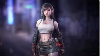 ชมงานออกแบบตัวละคร Tifa จากเกม Final Fantasy 7 จากนักสร้างเกมค่ายอื่น