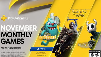 PlayStation Plus เกมแจกฟรี PS4 และ PS5 ในเดือนพฤศจิกายน