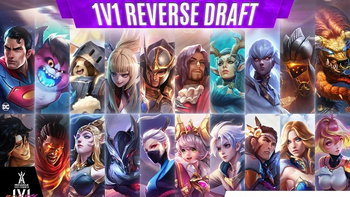 RoV: Reverse Draft 1vs1 ใครแน่ก็มาดิค้าบ !!