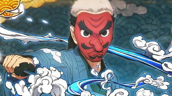 ข้อมูลใหม่ อาจารย์ Sakonji Urokodaki ร่วมเกม Demon Slayer: Hinokami Keppuutan