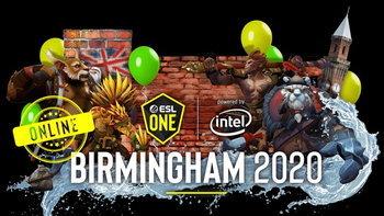 ร่วมเชียร์คนไทยใน DOTA 2 ESL One Birmingham 2020