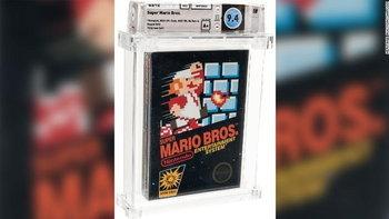 มีค่าทางใจ! บุคคลนิรนามประมูลตลับเกม Super Mario Bros. คลาสสิก ราคา 3.7 ล้านบาท