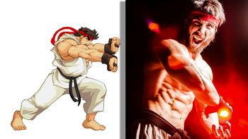 คอสเพลย์ริว Ryu จากเกม Street Fighter