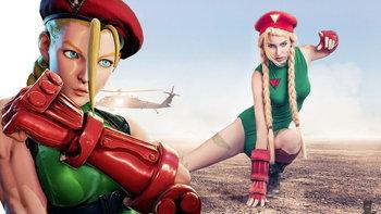 คอสเพลย์ตัวละครหญิงตัวที่ 2 ของเกม Street Fighter - Cammy White