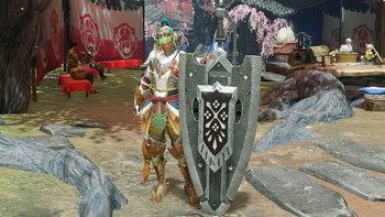 แฟนนักล่าแย้สร้าง DIY Charge Blade จากเกม Monster Hunter Rise