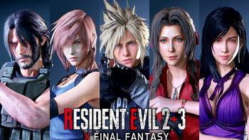 แฟนสร้างภาพยนตร์เกม Resident Evil 2 Remake x Final Fantasy