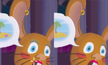 เกมส์จับผิดภาพกระต่ายน้อย