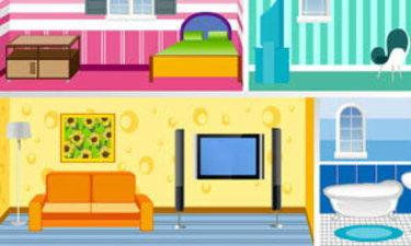 เกมส์ออกแบบบ้าน Doll House