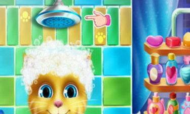 เกมส์อาบน้ำให้แมวเหมียว