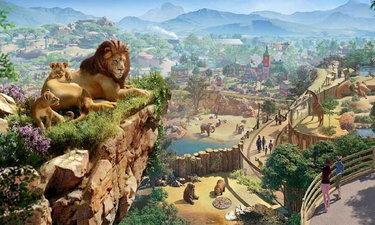 เกมสร้างสวนสัตว์ Planet Zoo จะวางจำหน่ายฤดูใบไม้ร่วงปีนี้