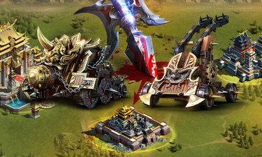 Kingdom Craft รถตีเมืองกับรถยิงหินต่างกันอย่างไร และเทคนิคการใช้งาน