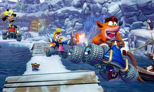 กลับมาอีกครั้ง Crash Team Racing Nitro-Fueled ภาครีเมค