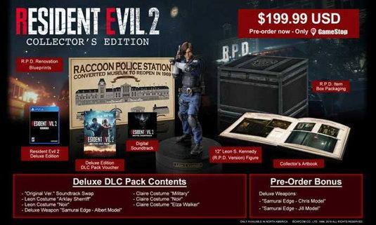 เงินในมือสั่นไปหมด Capcom เปิดพรีออเดอร์ชุดสะสม Resident Evil 2 Collectors Edition