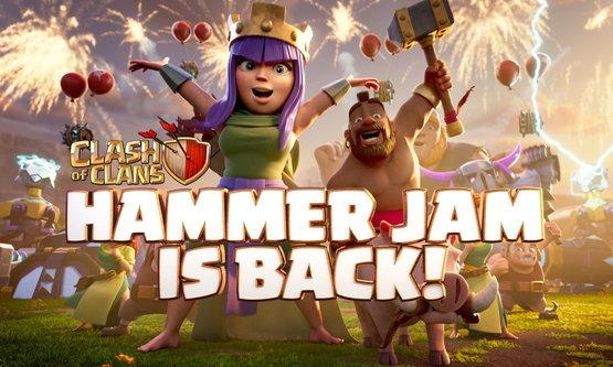 Clash of Clans - Hammer Jam กลับมาอีกครั้งในรอบ 3 ปี !! เวลาสร้างลด 50%