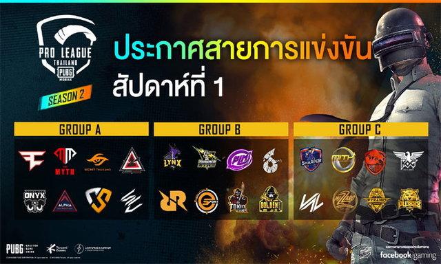 24 ทีมแข่งขัน PUBG Mobile Pro League Season 2 มีทีมไหนบ้างมาดูกัน