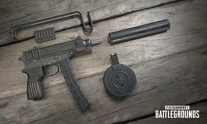 รีวิว Skorpion ปืนกลมือน้องใหม่ PUBG ตัวเล็กแต่พิษร้าย