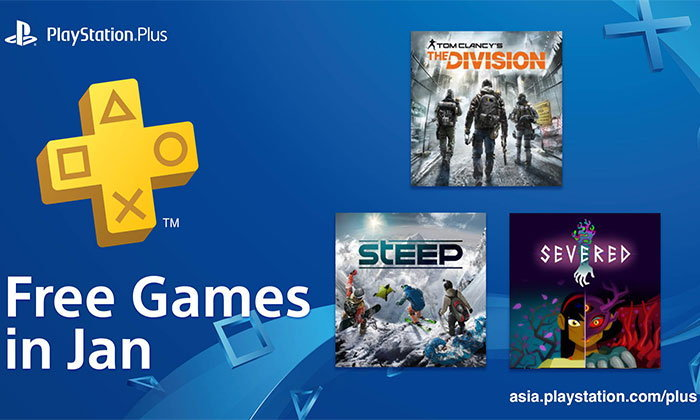 PlayStation Plus ประจำเดือนมกราคม 2019 โซน Asia
