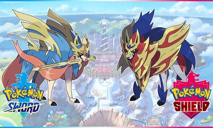 ข้อมูลใหม่ Pokemon Sword กับ Pokemon Shield