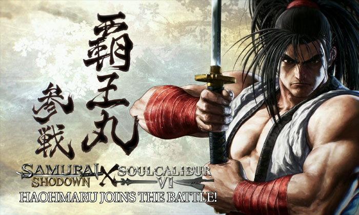 Haohmaru จาก Samurai Shodown เข้าร่วมศึกใน Soulcalibur VI