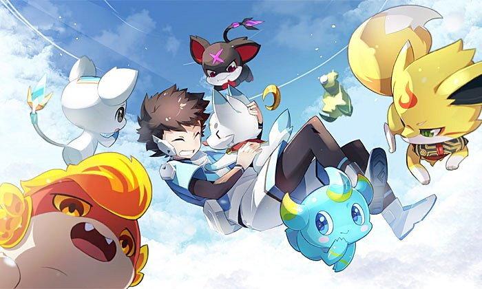 รีวิว Aura star เกมจีนลูกผสม เหมือนเอา Pokemon ผสม Digimon