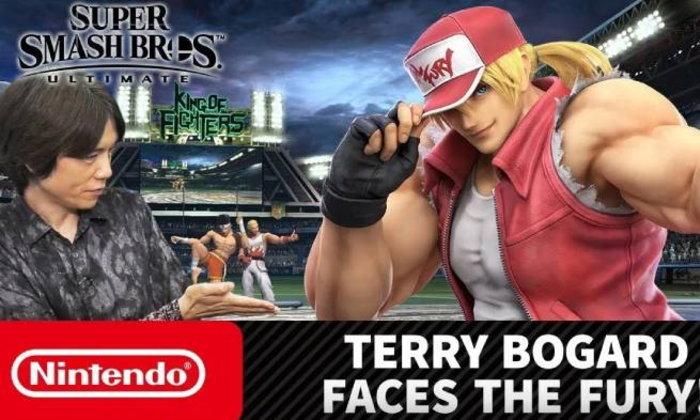 Nintendo ปล่อยคลิปแนะนำตัวละคร Smash ใหม่ Terry Bogard ละเอียดยิบ!