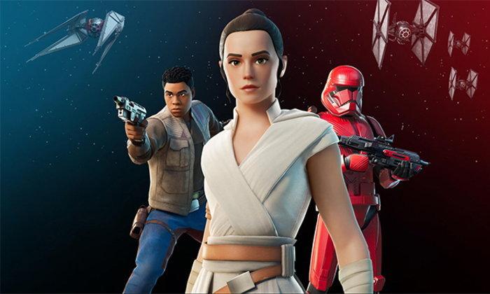 Fortnite x Star Wars กับกิจกรรมพิเศษต้อนรับภาพยนตร์ลำดับที่ 9 ในเร็วๆนี้
