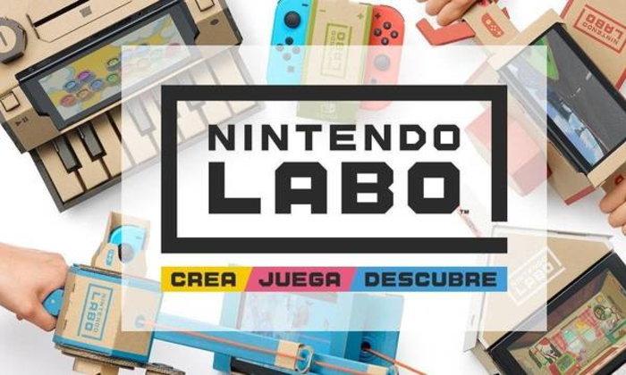 มาแล้ว Nintendo Labo แนวทางใหม่ในการเล่นบน Nintendo Switch